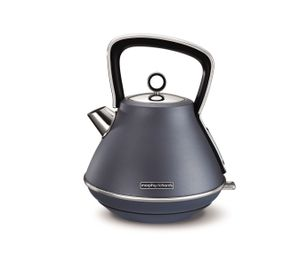 Fierbător de apă Morphy Richards Pyramid Steel Blue Special Edition