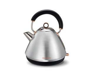 Fierbător tradițional Morphy Richards Brushed Rose Gold Collection