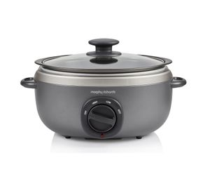 Slow Cooker Morphy Richards Sear and Stew Titanium 3,5 litri